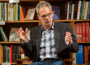 Author Jon Krakauer speaks in 2016 on campus sexual assault